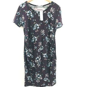 NWT! French Grey Stitch Fix Maternity Floral Dress